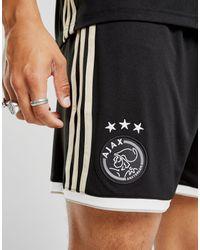 Adidas - Black Ajax 2018/19 Away Shorts for Men - Lyst