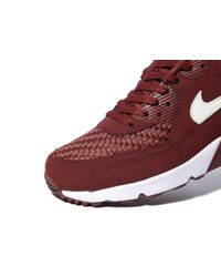 Nike - Red Air Max 90 Ultra Essential for Men - Lyst