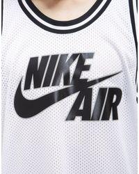 Nike - White Air Mesh Vest for Men - Lyst