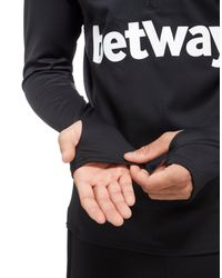 Umbro - Black West Ham United Half Zip Training Top for Men - Lyst