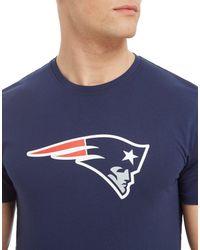 KTZ - Blue Nfl New England Patriots T-shirt for Men - Lyst