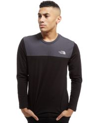 b284992b The North Face Colourblock Long Sleeve T-shirt for Men - Lyst