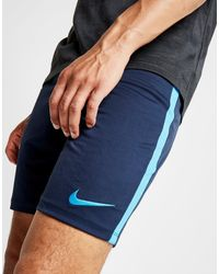 Nike - Gray Academy Poly Shorts for Men - Lyst
