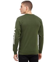 Vans | Green Classic Longsleeve T-shirt for Men | Lyst