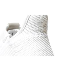 Adidas Originals - White Tubular Shadow - Lyst