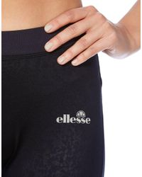 Ellesse - Black Snake Panel Tights - Lyst