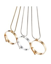 Jenny Bird - Metallic Serra Pendant - Lyst