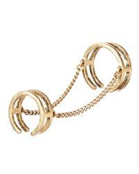Jenny Bird - Metallic The Smith Ring - Size 7 - Lyst