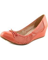 Cole Haan | Tali Grand Lac Wdg 40 Women Open Toe Synthetic Pink Wedge Heel | Lyst