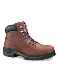"""Wolverine - Brown Harrison 6"""" Work Boot for Men - Lyst"""
