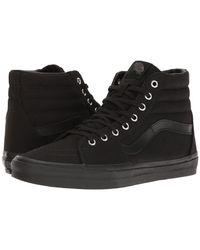 Vans | Black Unisex Sneakers Sk8-hi (mono) Vn0a38gemx5 | Lyst