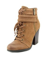Kenneth Cole - Kenneth Cole Reaction Might Rocket Women Us 5 Brown Ankle Boot - Lyst