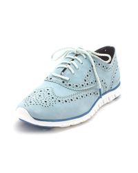 Cole Haan - Blue Ch1981s Low Top Lace Up Fashion Sneakers - Lyst