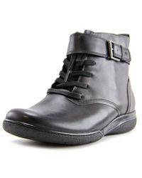 Clarks | Narrative Kearns Admire Women Us 8 Black Ankle Boot | Lyst