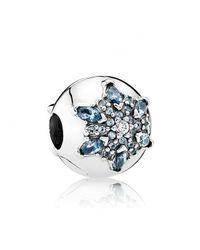Pandora - Multicolor Crystallised Snowflake Clip - 791997nmb - Lyst