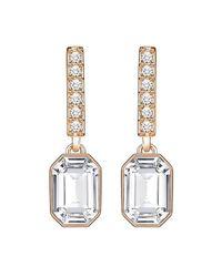 Swarovski - Metallic Crystal Linear Earrings - Lyst