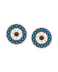 Swarovski - Blue 5377720 Crystal Wishes Earrings - Multi - Lyst