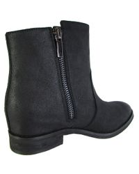 Kenneth Cole - Black Womens Marcy Suede Western Boot Shoes - Lyst