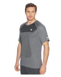 Champion - Gray Outdoor Training T-shirt for Men - Lyst