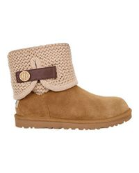 Ugg | Multicolor Ugg Shaina Knit Bootie | Lyst