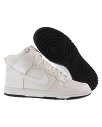 Nike - Dunk High Skinny White/white/black Casual Shoe 8 Women Us - Lyst