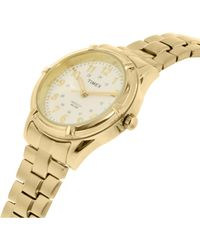 Timex - Metallic Womens Easton Avenue Quartz Brass And Stainless Steel Casual Watch Color:gold-toned (model: Tw2p891009j) - Lyst