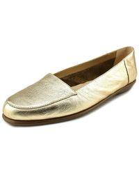 Aerosoles | Metallic Bet It All Women Us 11 Gold Loafer Uk 9 | Lyst
