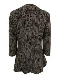 Calvin Klein - Black 3/4 Sleeve Drape Front Jacket (8 - Lyst