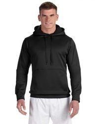 Champion - Black Mens 5.4 Oz. Perfor Colorblock Pullover Hood (s220) for Men - Lyst