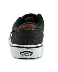 Vans | Black Chapman Stripe Youth Us 1 Gray Sneakers for Men | Lyst