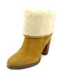 efcbfa751 Lyst - Tommy Hilfiger Katelynn Women Us 6 Tan Ankle Boot