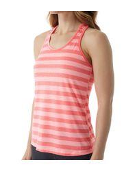 Champion - Pink W0778 Vapor Pin Dot Stripe Tank (pin Dot Stripe Neon L) - Lyst