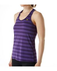Champion - Pink W0778 Vapor Pin Dot Stripe Tank (pin Dot Stripe Neon L) - Lyst