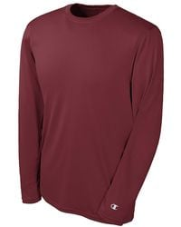 Champion - Purple Double Dry Long Sleeve Tee for Men - Lyst