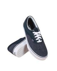 Vans - Blue Unisex Era (suede & Suiting) Drs Bls Skate Shoe 9.5 Men Us / 11 Women Us - Lyst