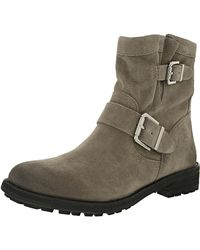 Vince Camuto - Brown Rubina Leather Moonstone Ankle-high Suede Boot - Lyst