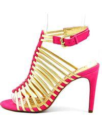 Lauren by Ralph Lauren   Pink Skyla Women Us 7 Multi Color Sandals   Lyst