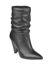 Guess - Black Nakitta Slouchy Booties - Lyst