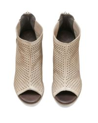 Kenneth Cole - Multicolor Kenneth Cole Nina Perforated Peep Toe Bootie - Lyst