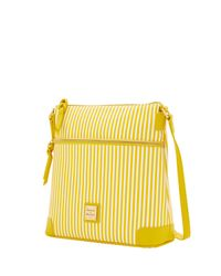 Dooney & Bourke | Yellow Db Stripe Crossbody | Lyst