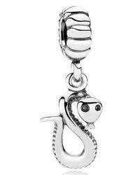 Pandora - Multicolor Chinese Zodiac Snake Pendant Charm - Lyst