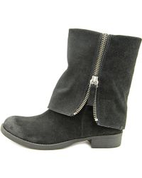 Nine West - Thomasina Women Us 6 Black Mid Calf Boot - Lyst