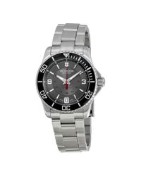 Victorinox - Multicolor Swiss Army Maverick Mechanical Grey Dial Ladies Watch 241708 for Men - Lyst