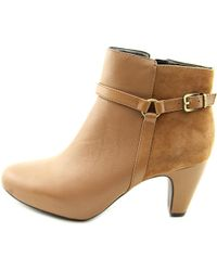 Easy Spirit - Brown Pedrina Women Us 10 Tan Ankle Boot - Lyst