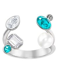 Swarovski | Multicolor Extra Large Open Ring | Lyst