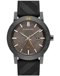 Burberry | Multicolor The New City Gmt Unisex Watch Bu9341 for Men | Lyst