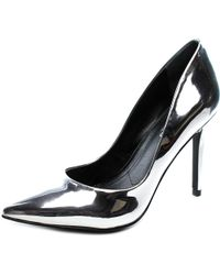 Charles David - Black Charles By Pact Women Us 9.5 Silver Heels - Lyst