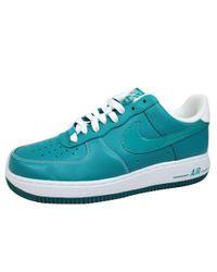 online store 0150b 8f4c1 Men s Blue Air Force I 1 Lush Teal lush ...