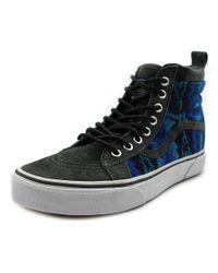 87e37404e4 Lyst - Vans Sk8-hi Mte Men Us 9.5 Blue Sneakers in Blue for Men