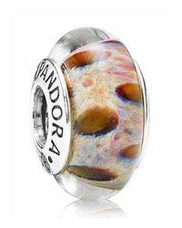 Pandora | Multicolor Clouded Leopard Charm | Lyst